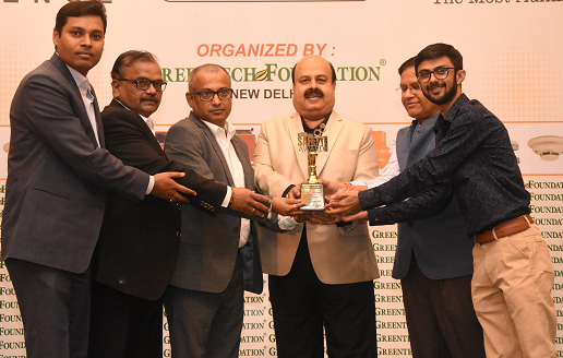 Greentech Safety Award for Power Transmission