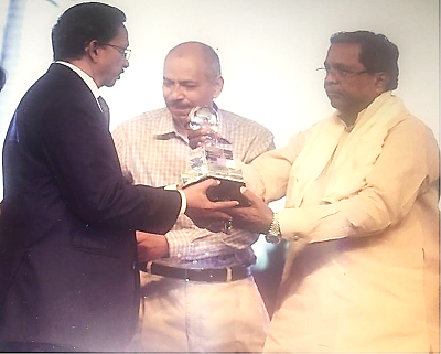 "KEC wins the ""Innovative Schemes for Implementation of Covered Conductor"" Award by Karnataka's Energy Ministry"