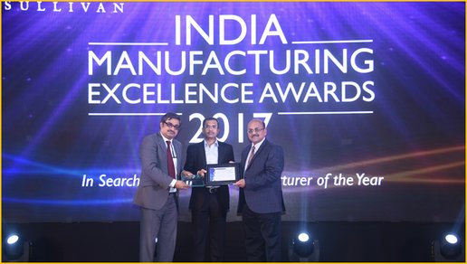 Supply Chain Plants win India Manufacturing Excellence Award